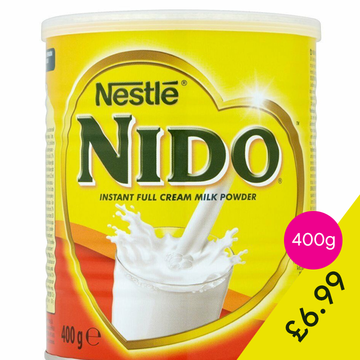 1065c2ef4a84 6.99 for two 400g of Nido Milk Powder Off-license & Groceries, Off ...